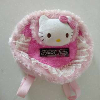 Hello Kitty pink back sling bag
