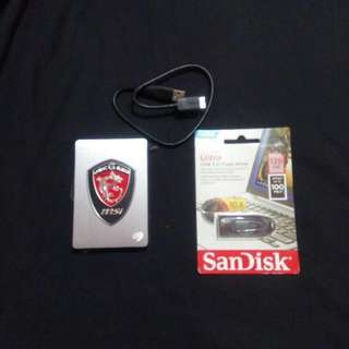 Usb flashdrive 128 g  (STILL AVAILABLE)external drive (SOLD)