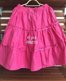 Skirt for 6yo