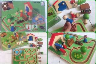 Plan Toys Play Park for Infants/Toddlers