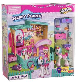 Shopkins Happy Places Happy Stables playset