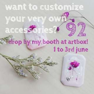 L4L- Make your very own resin accessories @ artboxsg18