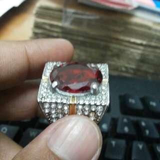 Garnet Ring Sircon Full