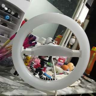 Ring Light Makeup LAMPU Saja