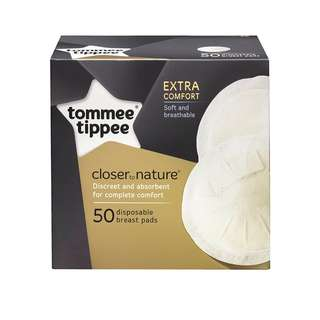 Tommee Tippee Closer to Nature - 50X Disposable Breast Pads