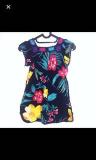 Preloved Flowery Shirt