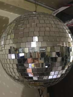 Glass Disco Ball