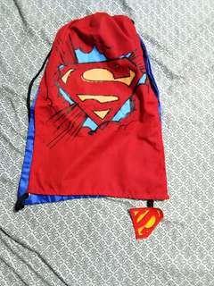 Superman drawstring with cape