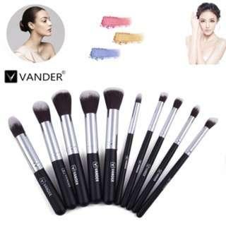 (124)10PC Professional Makeup Brush Powder Foundation Face Brushes