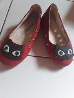 Flat shoes miauw