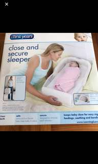 first years close and secure sleeper