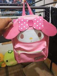 美樂蒂粉色兒童用後背包-超可愛
