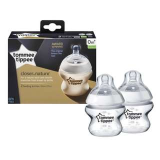 Tommee Tippee Closer to Nature - 2X 150ml Pp Bottle
