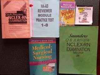 Saunders Nclex Q&A / HAAD  / LIPPINCOTT MATERNAL/ MEMORY BOOK