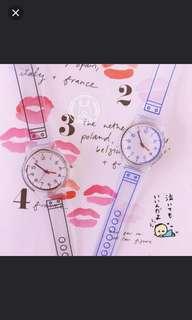 (4隻/4pieces) 戶外旅行運動男女生活防水手錶 (田亮推廣系列) (包Buyup自取站取貨) (General Water Resistance watch)