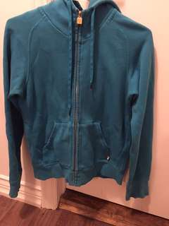 Artizia TNA Blue hooded sweater size small