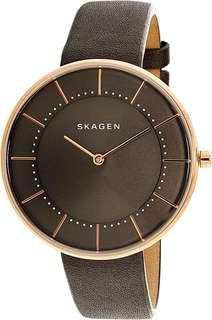 Gitte Grey Leather Quartz Watch SKW2613