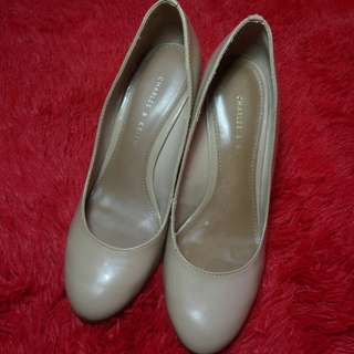 charles & keith shoes wedges size 36