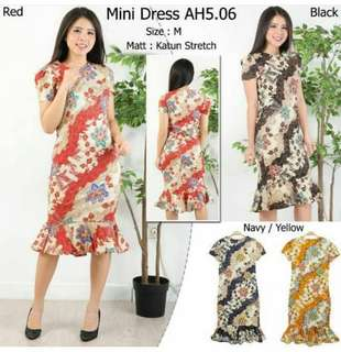 Batik Dress Ready stock!!😘