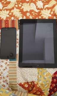 NEGOTIABLE Bundle iPad 4 and iPhone 6s plus