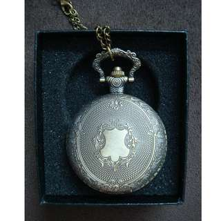 (RA 05)Brand New Pocket Watch With Necklace