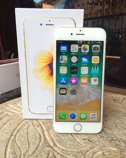 Iphone 6s 128GB Gold (Preloved, 98%)