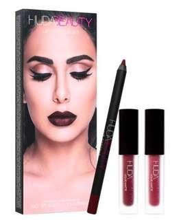 Huda Beauty Lip Contour Set in Vixen & Famous
