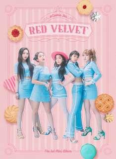 [GO] Red Velvet Japan 1st mini album Cookie Jar