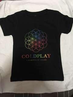 Coldplay - A Head Full of Dream kids t-shirt