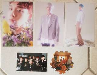 EXO, BTS, WANNA ONE PCs/Posters