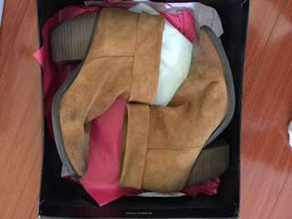 Aldo Tan Booties Size 8
