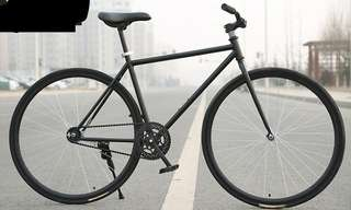 Brand new black fixie