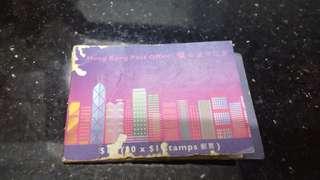 (九十年代)-香港郵票小刪子(小本票$1女皇頭)懷舊
