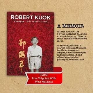 Robert kuok-a memoir (pre-order)
