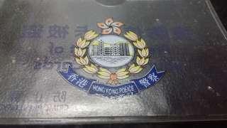 (2000年)-香港警察《提防信用卡被盗》宣傳卡套(一個)懷舊