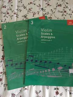 ABRSM Violin Scales & Arpeggios