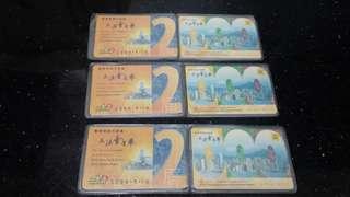 (2000年)-香港立法會選舉-宣傳小型卡(共三套)懷舊