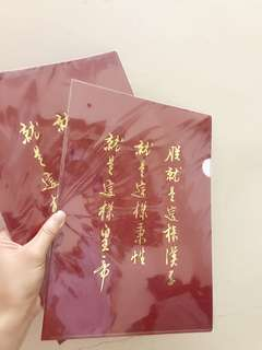 【朕就是這樣漢子】100%NEW「台灣限定」搞鬼 A4文件夾 故宮博物院 File Holder
