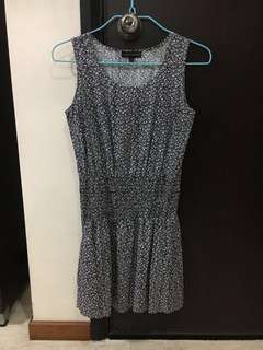 MOONRIVER Sleeveless Pullover Printed Dress