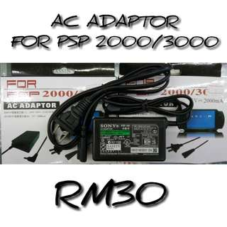 Ac PSP 1k,2k,3k Charger Adapter