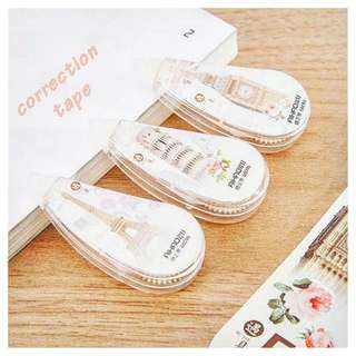 3pcs CORRECTION TAPE