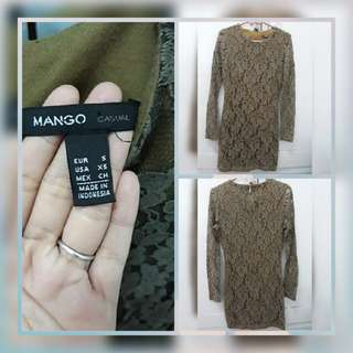Mango Dress semi kebaya