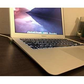 Apple MacBook Air ( 13吋,2015年)  i5-1.6G 4G HD6000 128G,公司貨