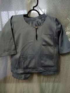Baju Melayu Baby umar