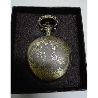 (RA 08)Brand New Pocket Watch With Necklace