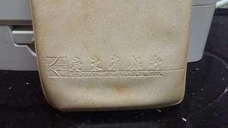 (九十年代)-廣東省銀行-存摺-米白色膠套(一個)懷舊