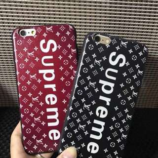 Supreme case for iphone6 and iphone 6+