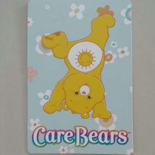 Brand New Authentic Funshine Bear Care Bears Postcard / Greeting Card
