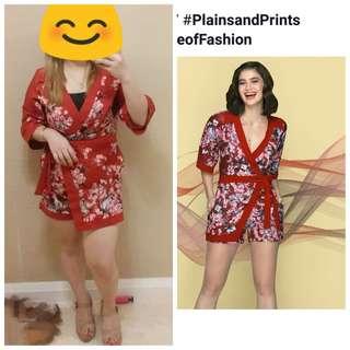 Plains & Prints twice used romper