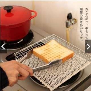 空運 日本丸十金網 直火用烤架 加送30cm夾子